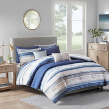 Marina Sea 8-Piece Comforter and Coverlet Collection