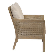 Encore Light Wash Natural Arm Chair  side view