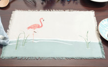 Water's Edge Flamingo Placemats - Set of 4