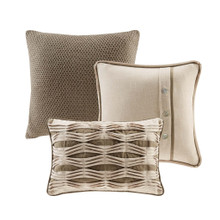 Beach Chateau Luxury 9-Piece Bedding Collection 3 deco pillows