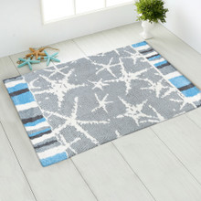 Starfish Sea Accent Rug room view 2