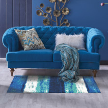 Blue Skies Accent Rug room view 2