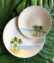 Palm Breezes Dinner Plates - Set of 6