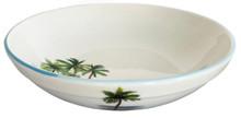 Palm Breezes Large Round Serving Bowl