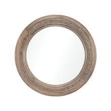 River's Run Mirror in Natural Finish