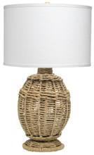 Jute Urn Table Lamp