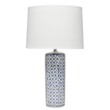 Vivian Table Lamp in Blue Ceramic
