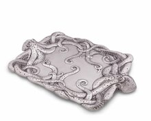 Polished Octopus Centerpiece Tray 4