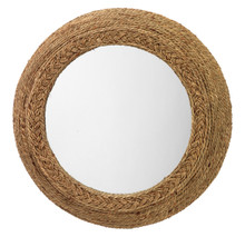 Seagrass Braided Mirror