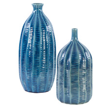 Big Sur Blue Vases - Set of 2