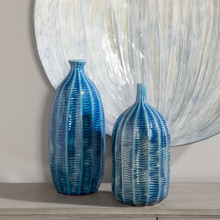 Big Sur Blue Vases - Set of 2 room view