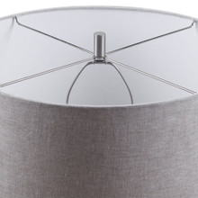 Straits of Magellan Blue Table Lamp shade and finial