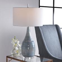 Rialta Tide Coastal Table Lamp light on