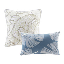 Lorelai Paradise Duvet Collection decorative pillows