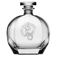 Personalized Mermaid Puccini Decanter