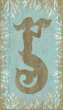 Aqua Mermaid Wall Decor from Suzanne Nicoll