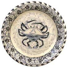 Blue Crab Round Platter