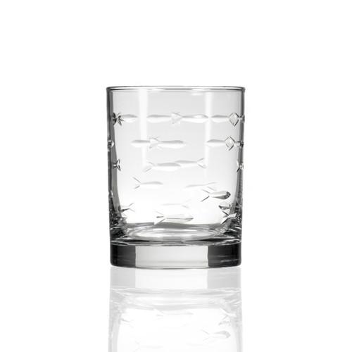 School of Fish DOF Glassware single image