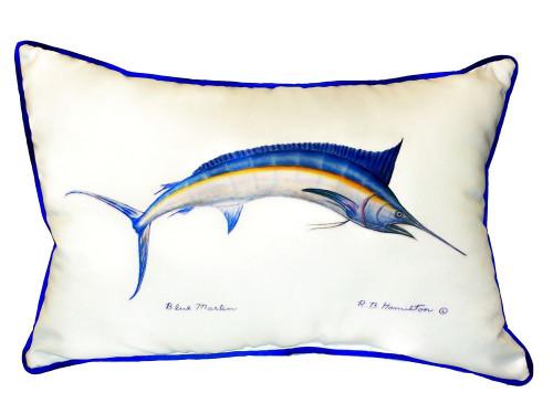 Deep Sea Marlin Coastal Pillow
