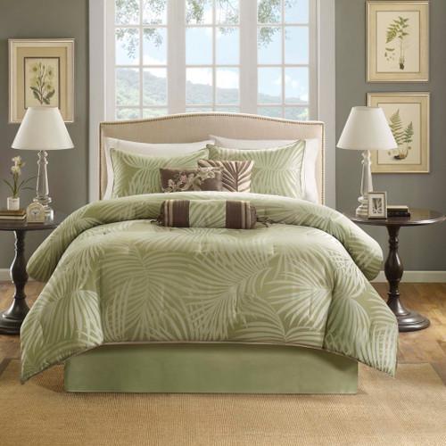 Bermuda Palms Comforter Set - King Size view 2