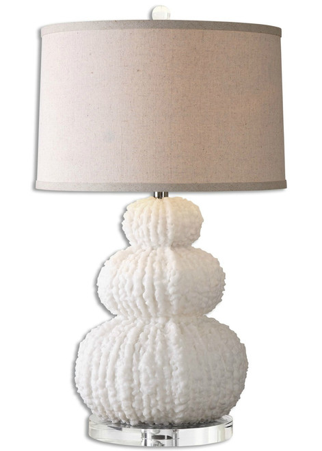 Fontanne Shell Ivory Table Lamp