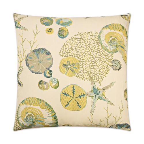 Destin Beach Luxury Coastal Pillow