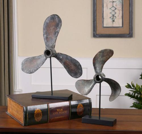 Rustic Boat Propeller Sculptures room 2