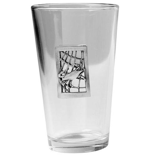 Seafarers Crab Glass Pint Glasses - Set of 4