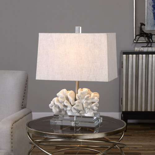 Coral Sculpture Table Lamp beauty image