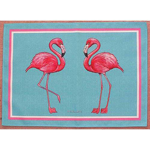 Pink Flamingo Placemats - Set of 4