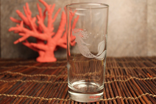 Mermaid Etched Coolers - Set of 4 beauty image