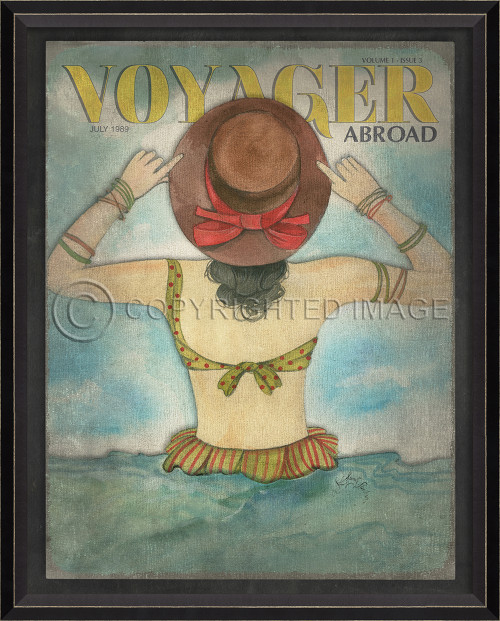 Voyager Abroad Art - July 1989