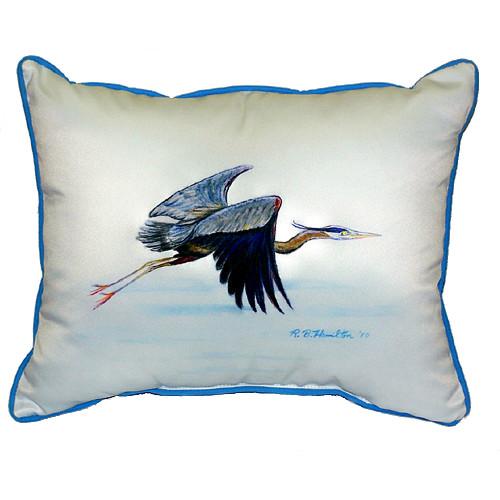 Eddie's Blue Heron Pillow