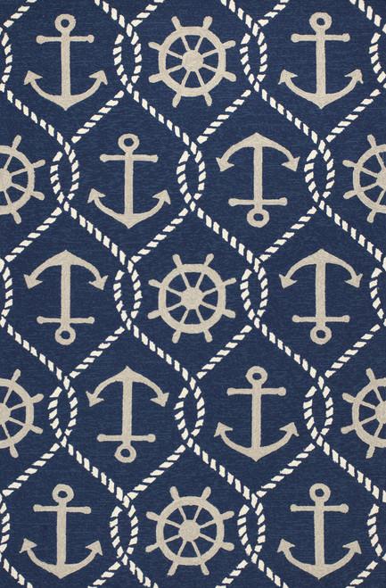 Navy Blue Marina Area Rug