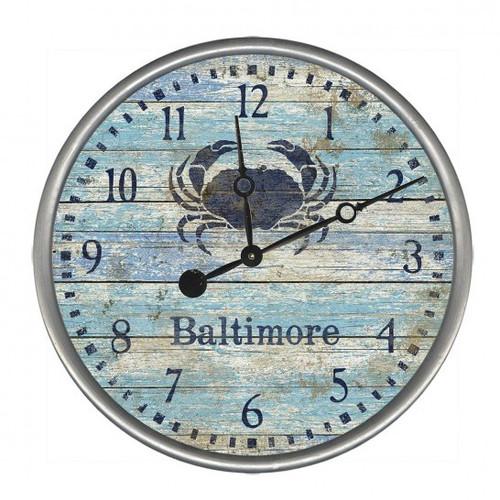Blue Crab Custom Wall Clock