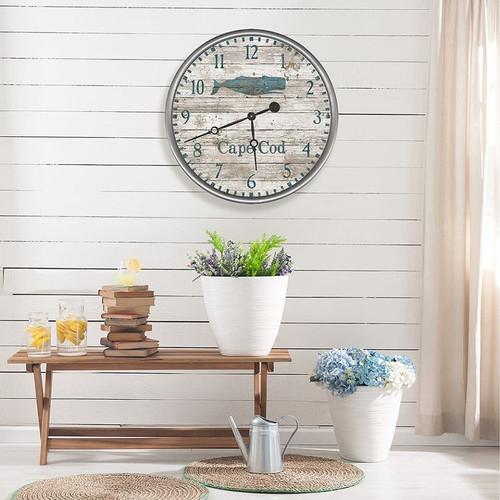 Blue Whale Custom Beach Clock room view