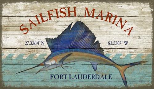 Sailfish Marina Coastal Custom Sign