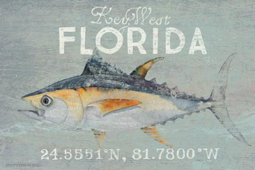 Deep Sea Tuna Custom Beach House Sign