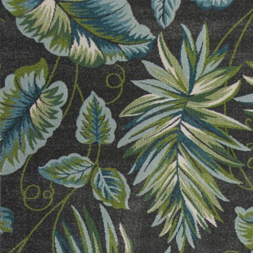 Grey Paradise Plush Rug close up
