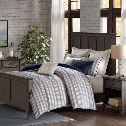 Coastal Farmhouse Comforter Queen Size 1