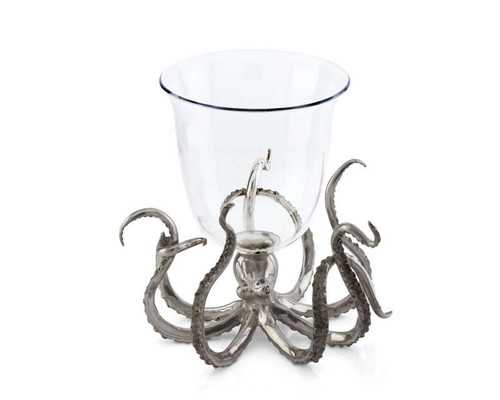 Octopus Glass Ice Bucket