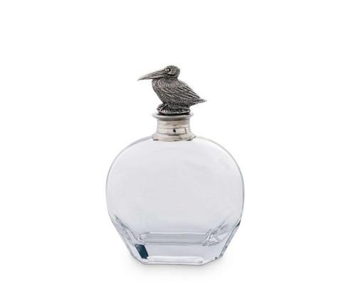 Wide Pelican Liquor Decanter