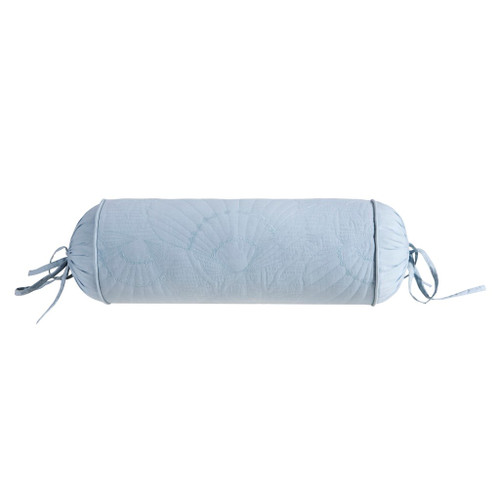 Crystal Beach Quilted Bolster Pillow