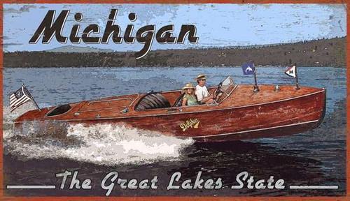 Classic Wooden Yacht Boat House Art - Custom