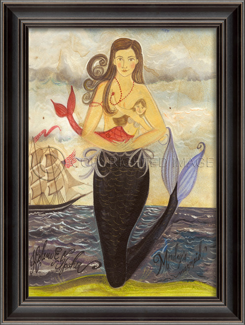 Monday's Mermaid Wall Art