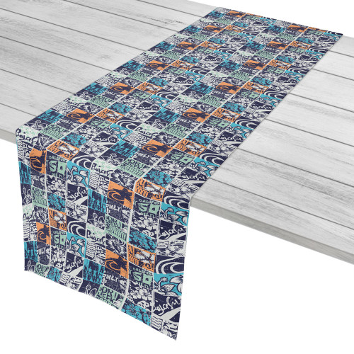 Surfing Patchwork Table Runner