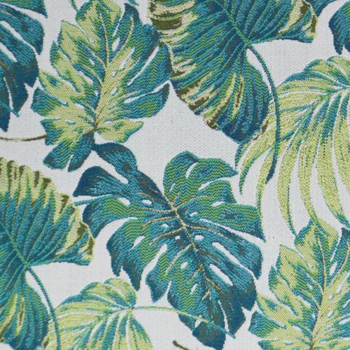 Sun Palms pillow fabric close up