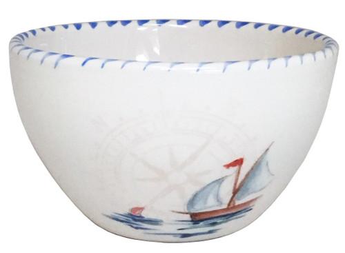 Sailboat Dessert Bowl