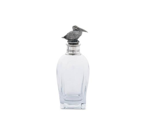 Short Pelican Liquor Decanter