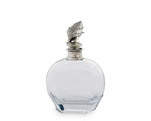 Wide Conch Shell Liquor Decanter